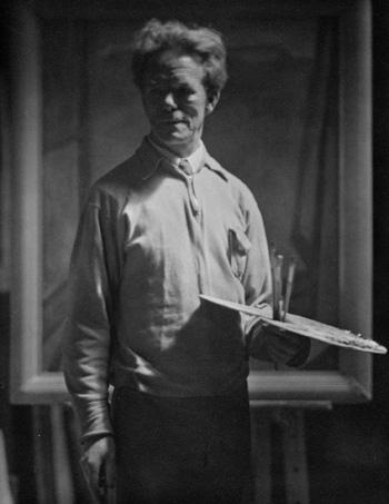 Frederick Horsman Varley by John Vanderpant