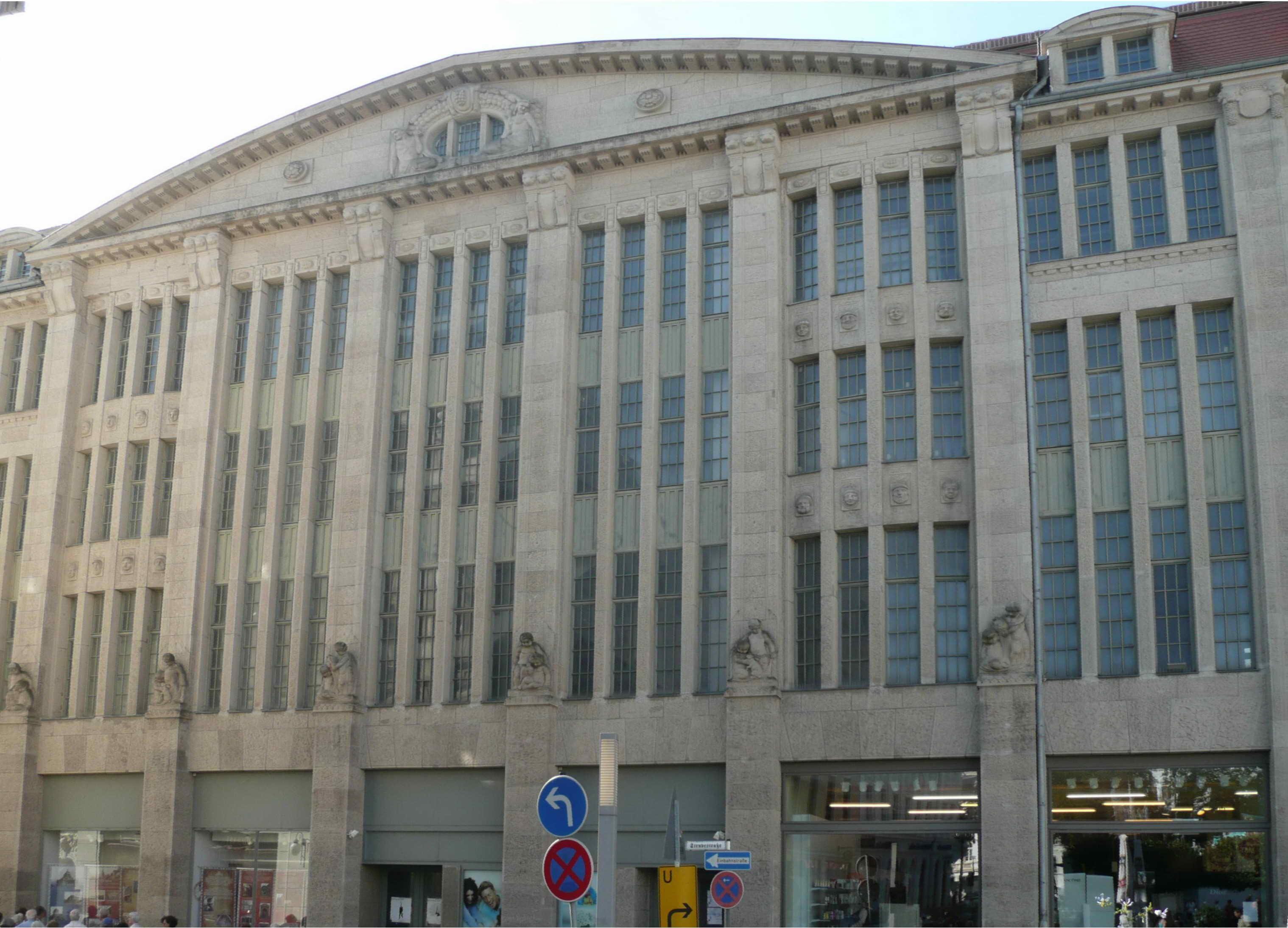 File G 246 Rlitz Kaufhaus Hertie Jugendstil 1913 Li Front