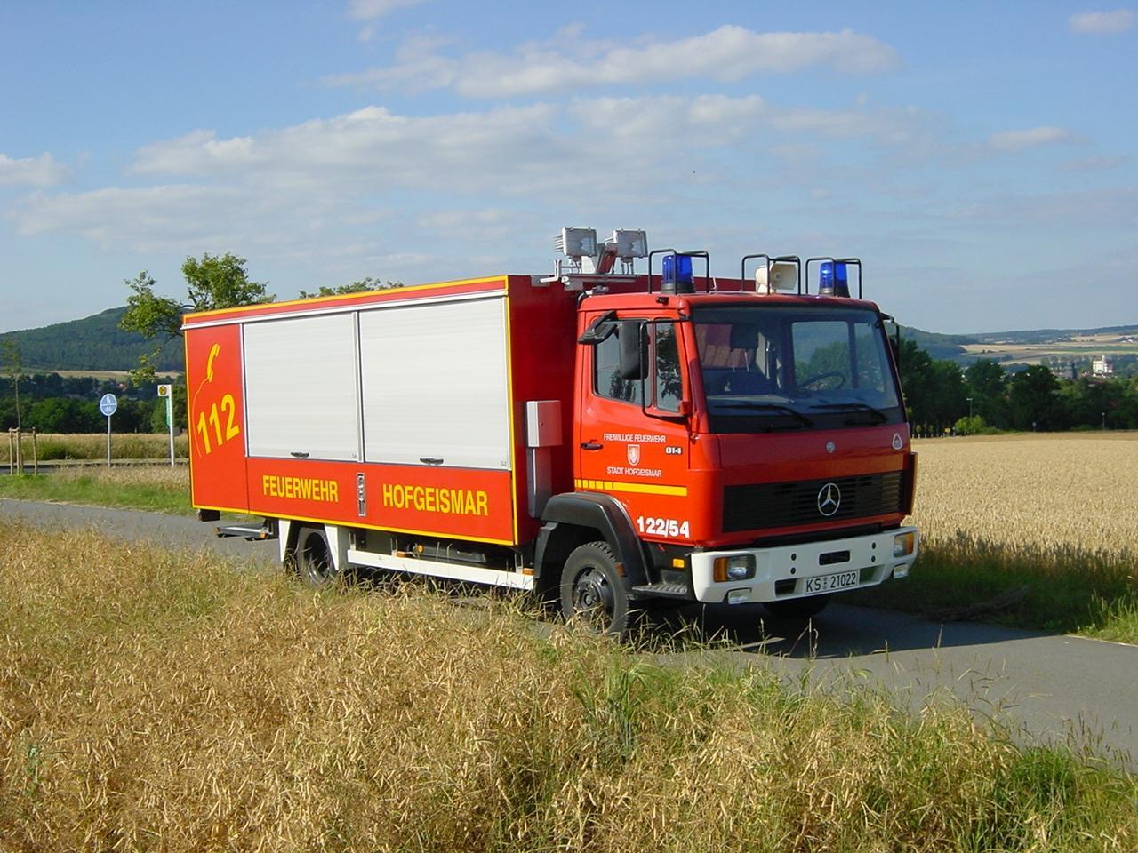 Gerätewagen Gefahrgut