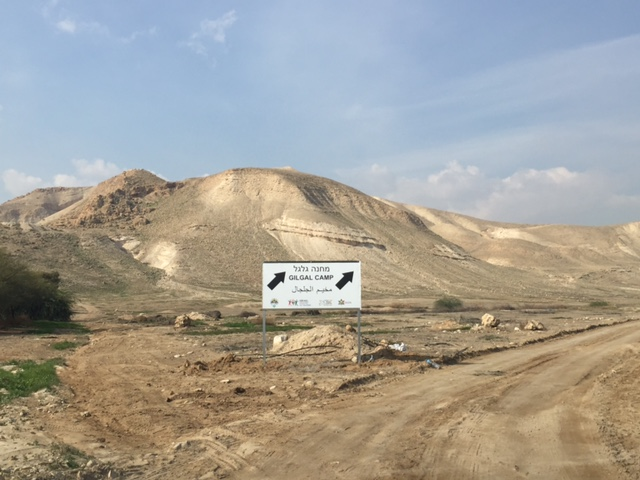 To show deserted Gilgal