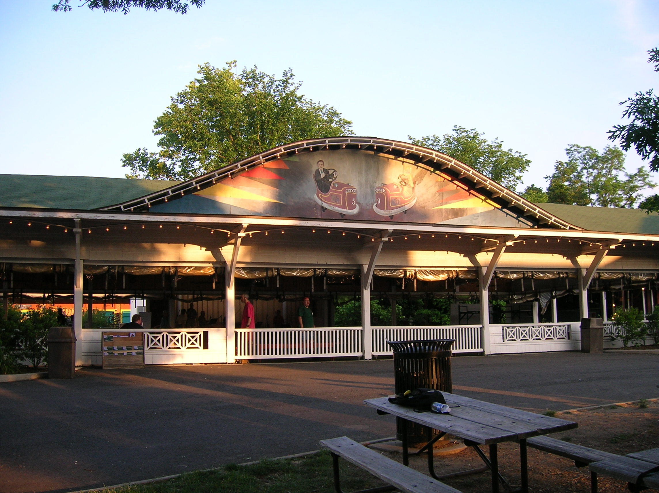 Glen Echo Park Bumper Car Pavilion
