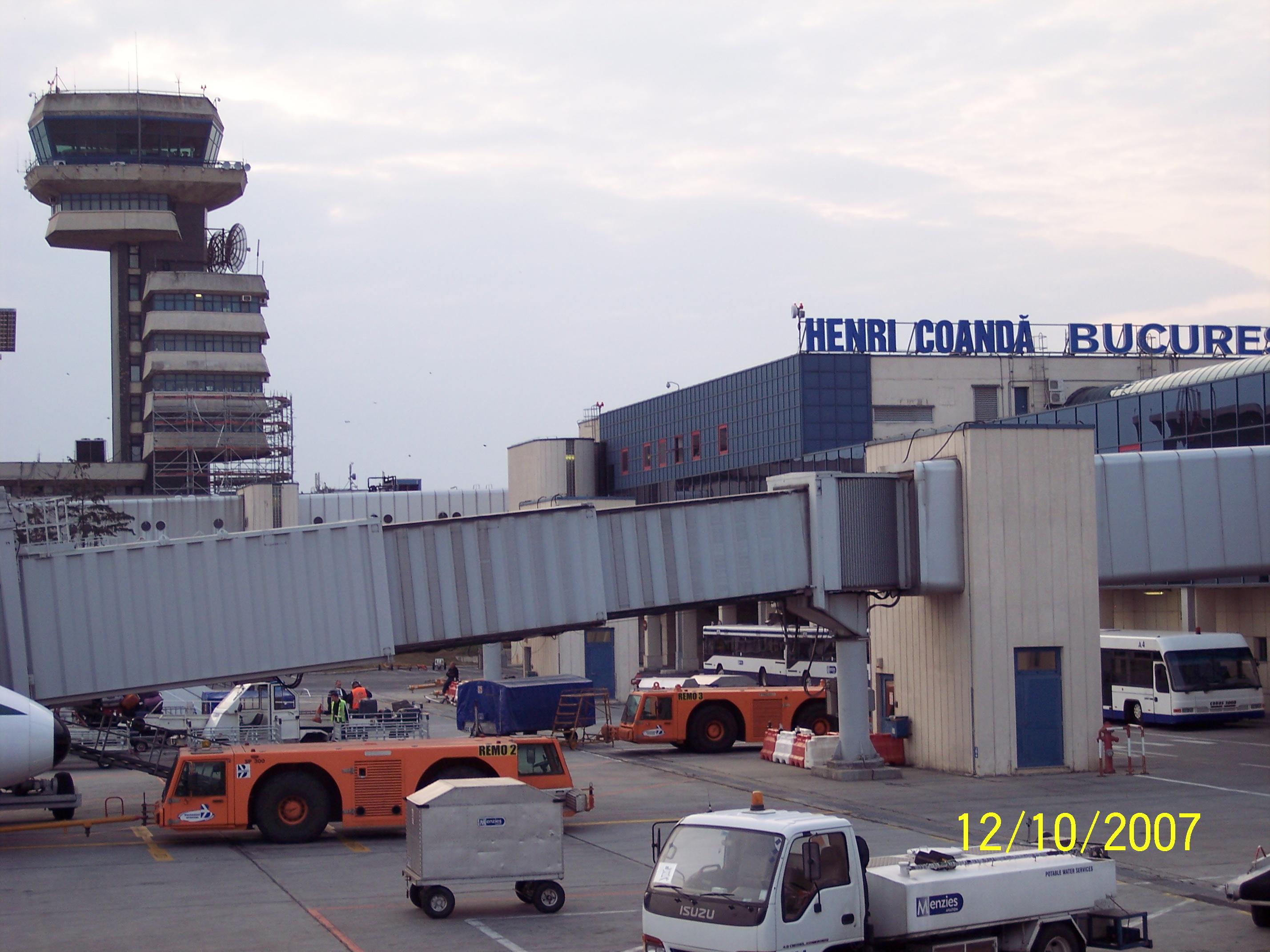Aeroporto Bucarest : File henri coanda int airport otopeni bucharest