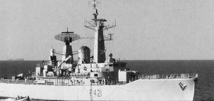 Royal Navy Ships >> HMNZS Canterbury (F421) - Wikipedia