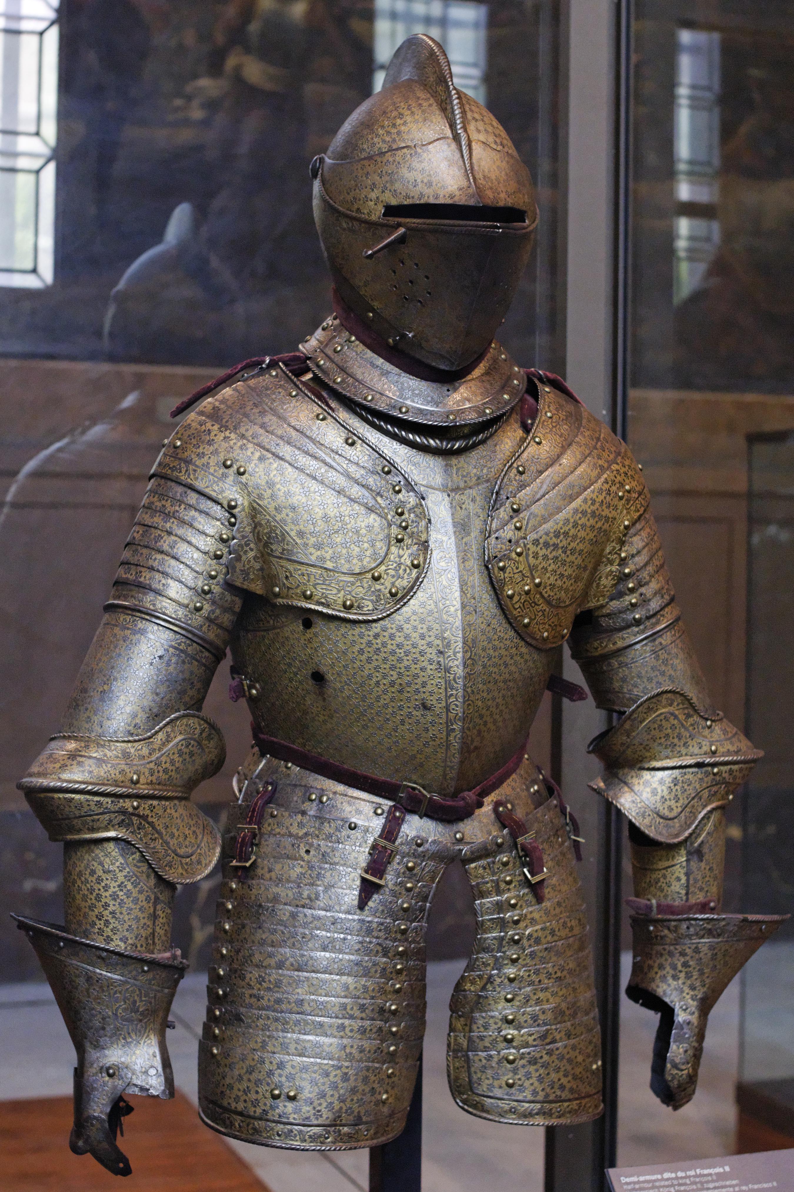 File Half Armour Francis Ii Musee Armee Invg119 Jpg