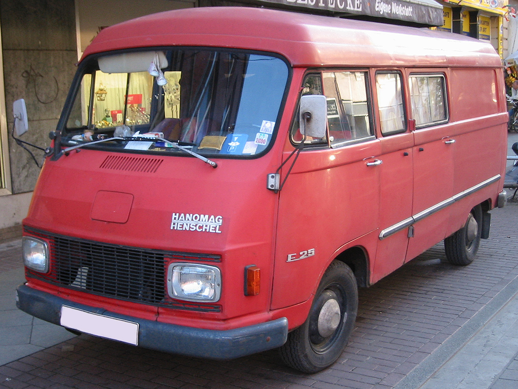 Mercedes Benz Van >> Hanomag-Henschel — Wikipédia