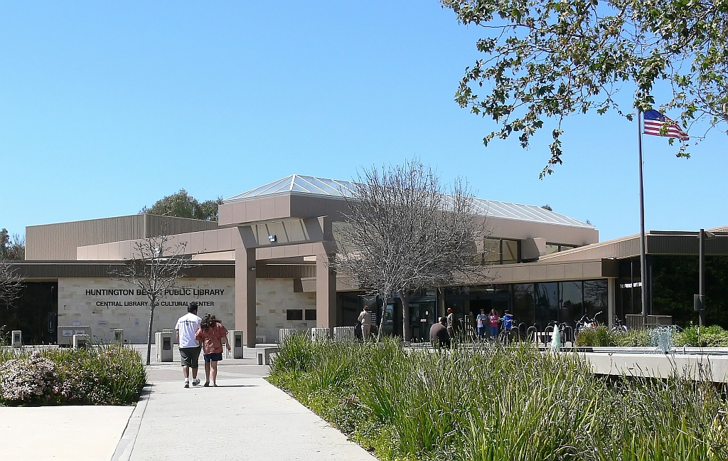 City Of Huntington Beach Central Library Cultural Center