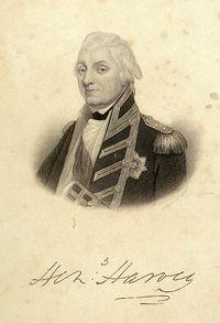 Henry Harvey Officer of the British Royal Navy