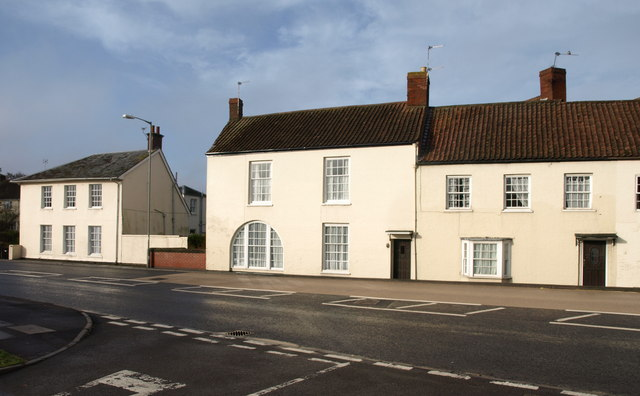 Houses in North Petherton - geograph.org.uk - 1670233