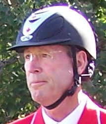 Ian Millar at Spruce Meadows at the CSIO Spruc...