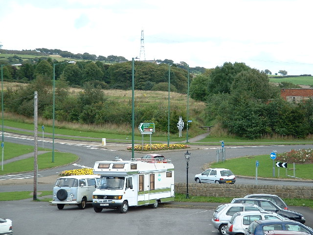 Jolly Drover's Roundabout, Leadgate - geograph.org.uk - 127175
