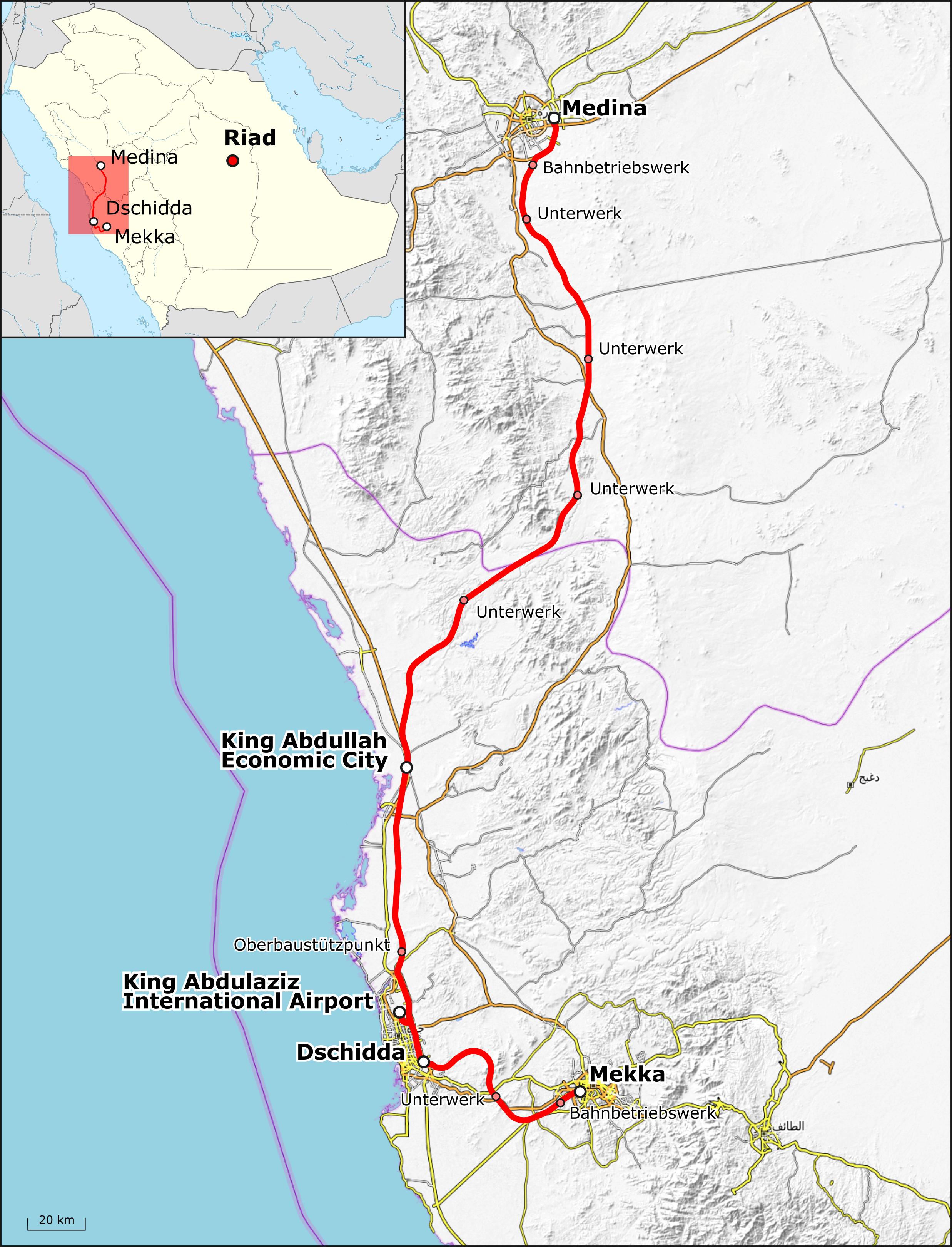 Haramain high-speed railway - Wikipedia