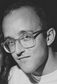 Portrait of Keith Haring
