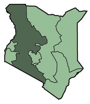 Lage der Masai Mara in Kenia