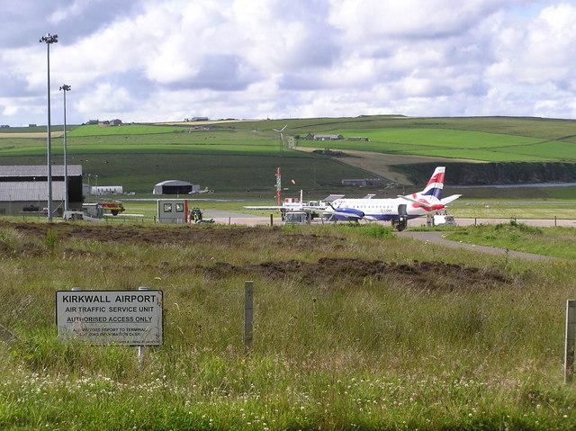 Kirkwall Airport - Wikipedia