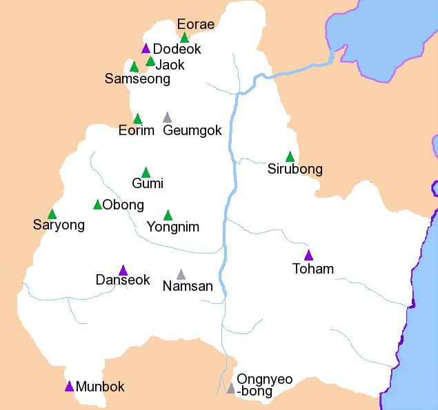 FileKoreaGyeongjuMap of mountains and drainage02png Wikimedia