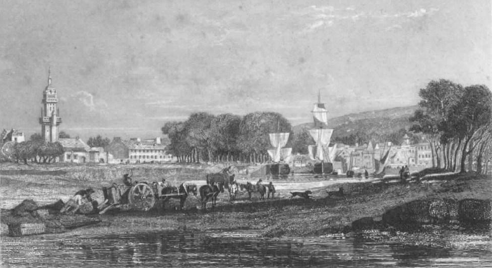 Filelanderneau En 1844 Dessin De Jules Noëljpg
