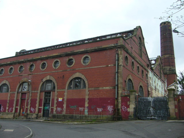 File:Last days of the old Shrubhill tram depot - geograph.org.uk - 1839315.jpg