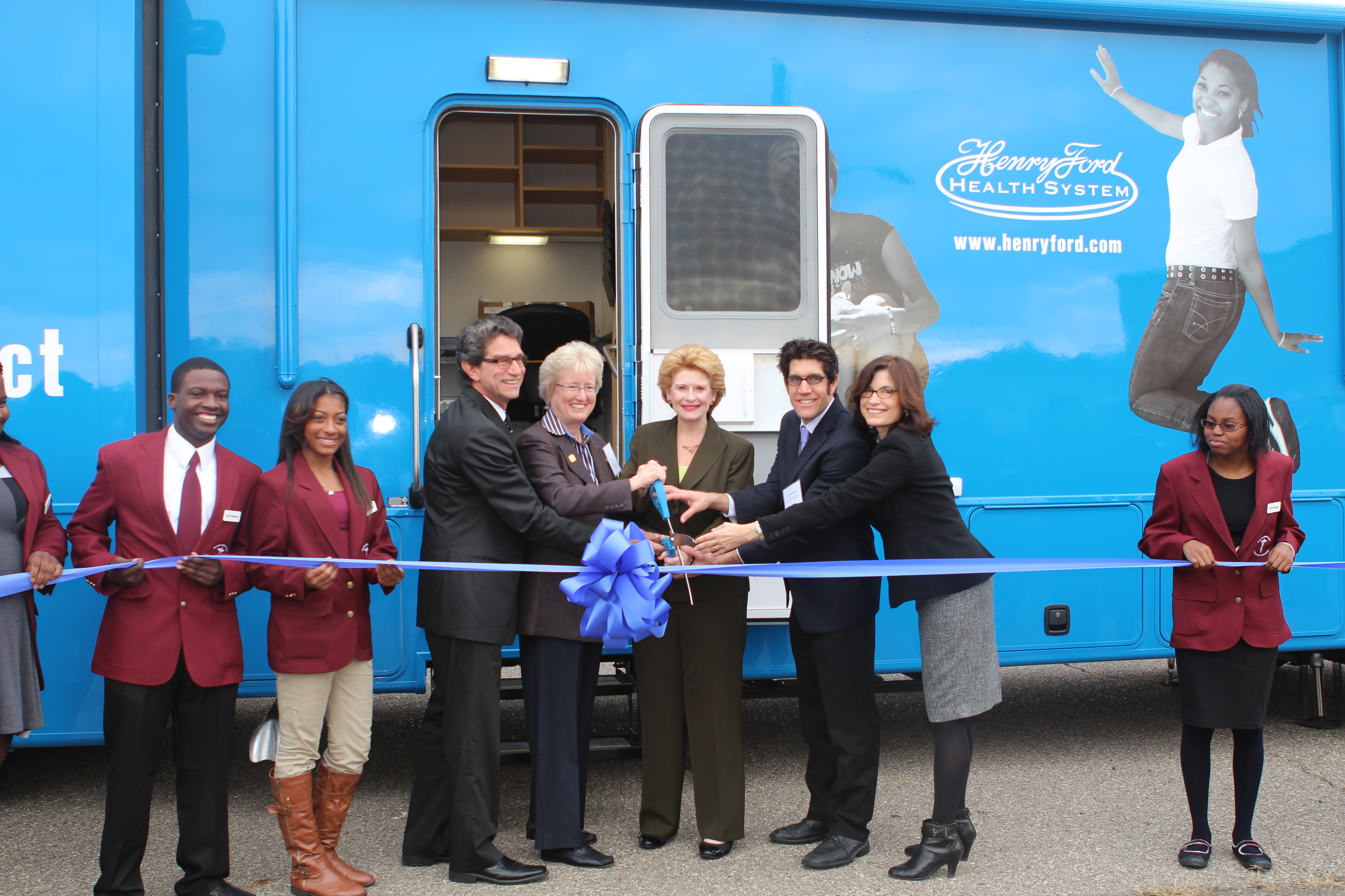 File:Launching a new mobile medical clinic (10708874824) jpg