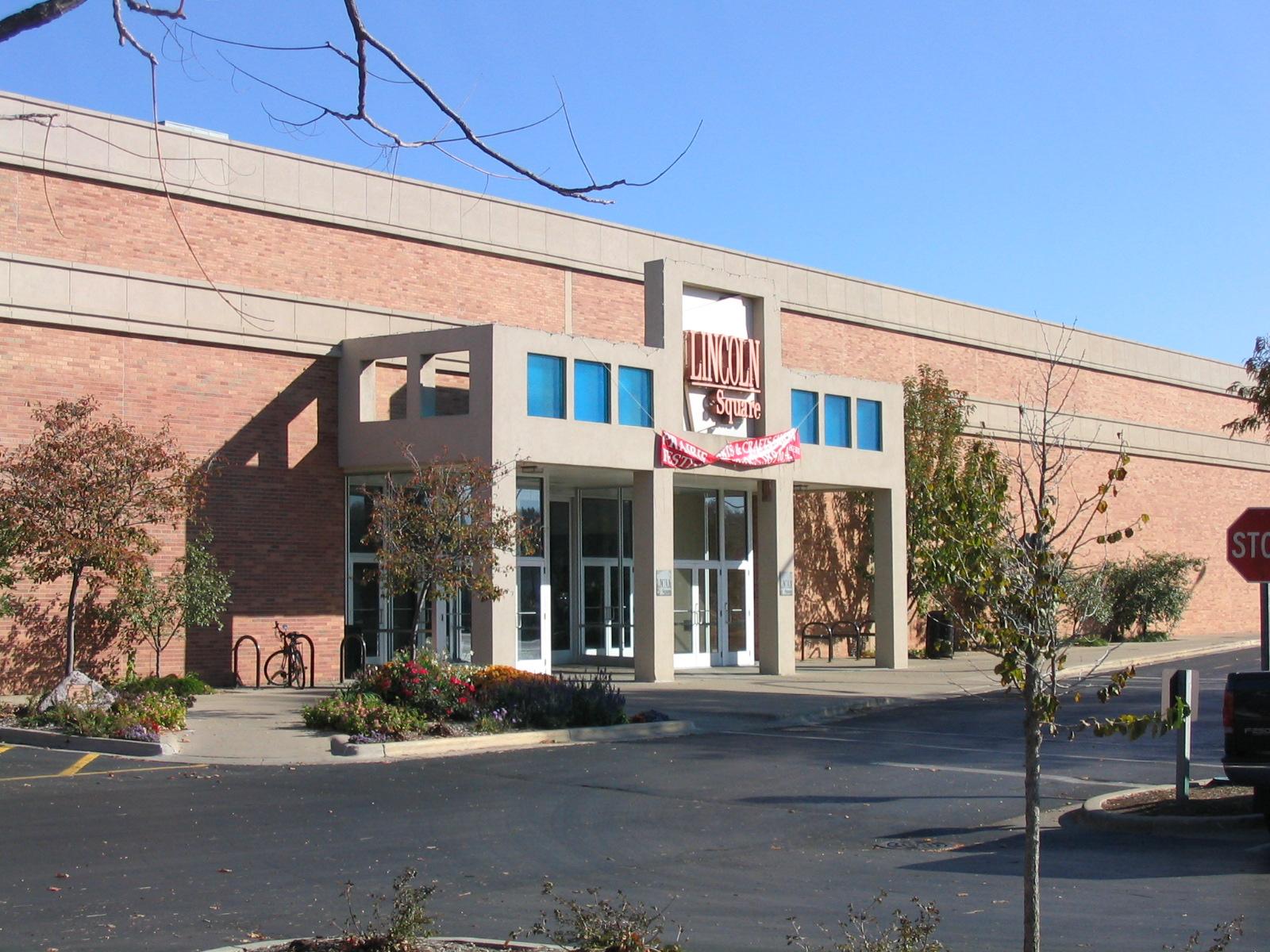 File Lincoln Square Mall Entrance Champaign Urbana Area