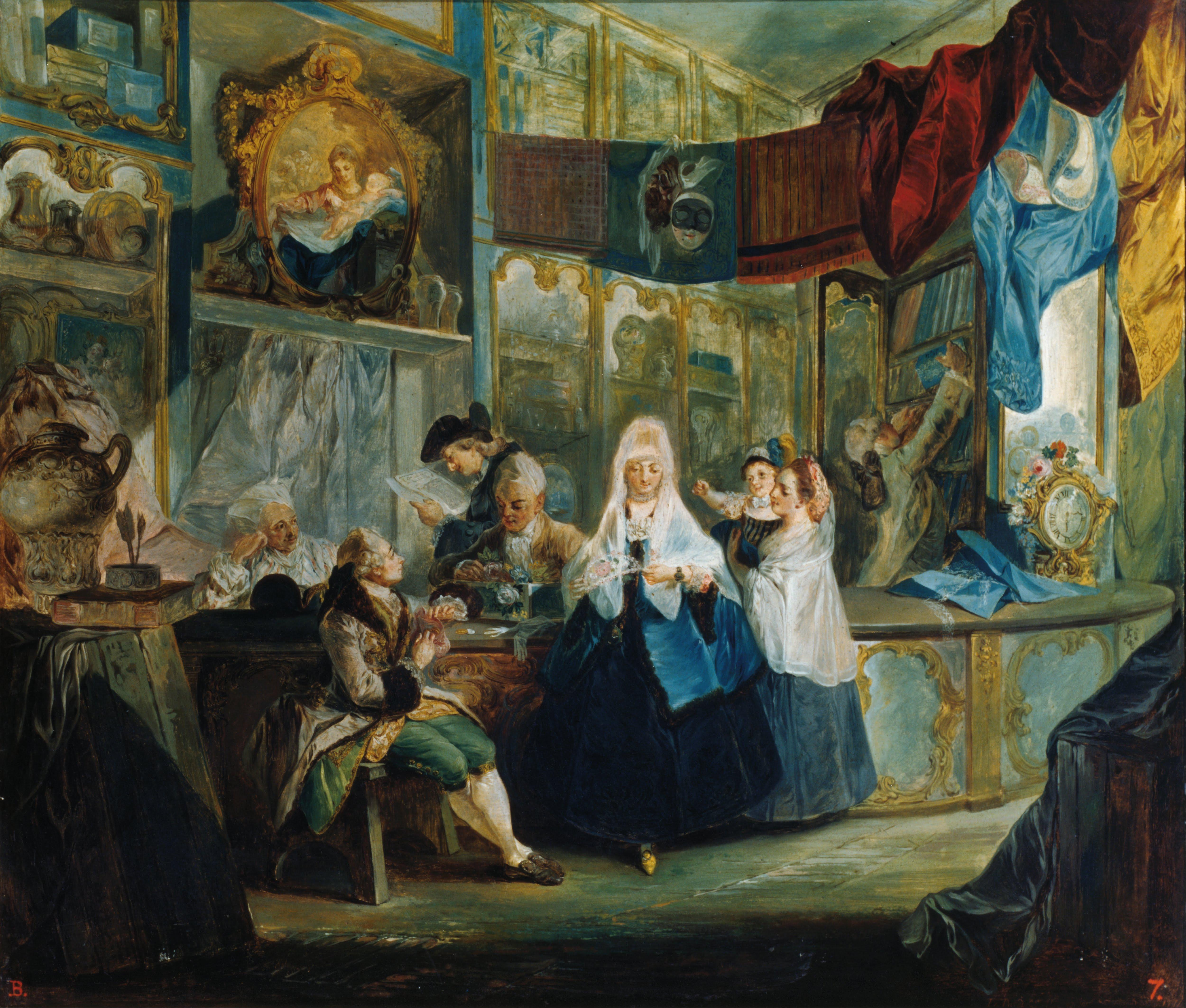File:Luis Paret y Alcázar - The Shop - Google Art Project.jpg - Wikimedia Com...