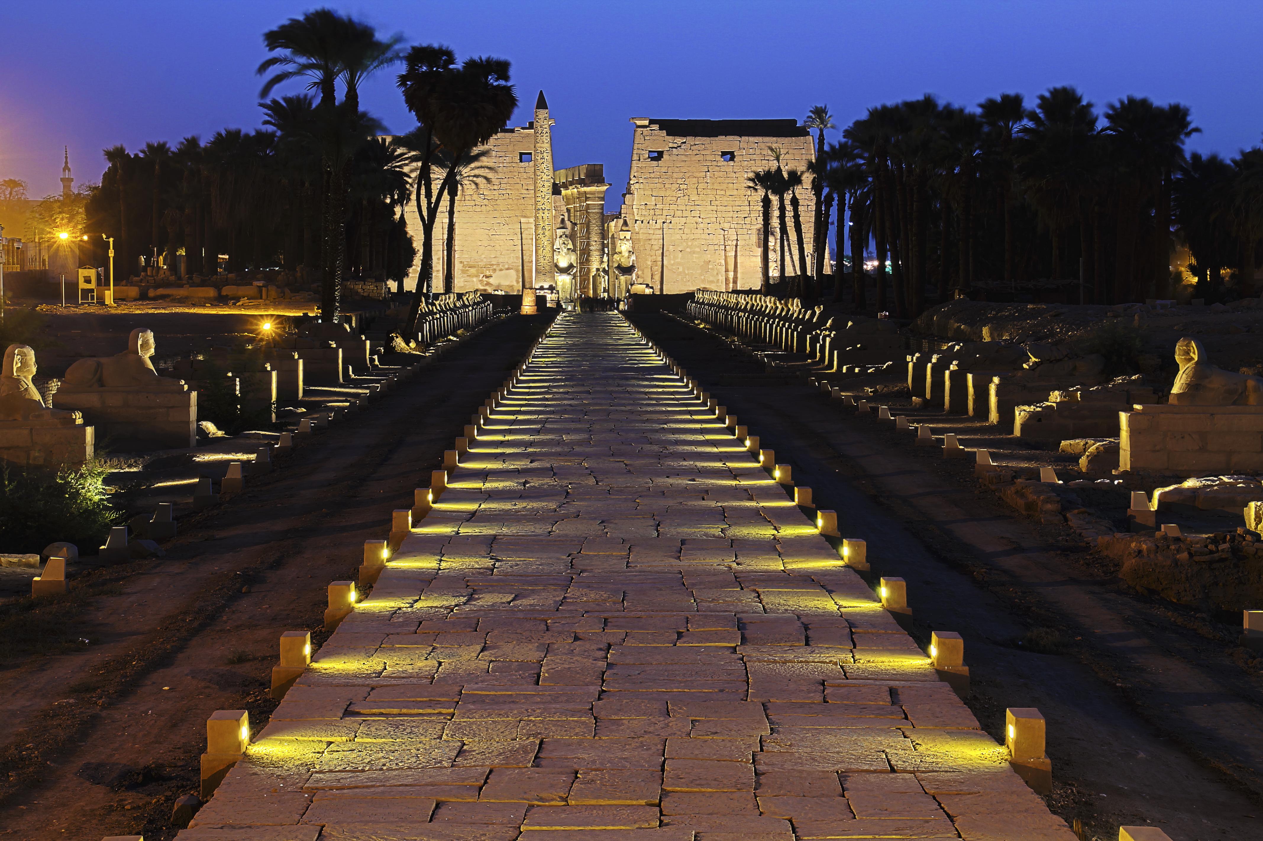 Luxor Temple 2015 - أشهر الاماكن السياحية فى الأقصر