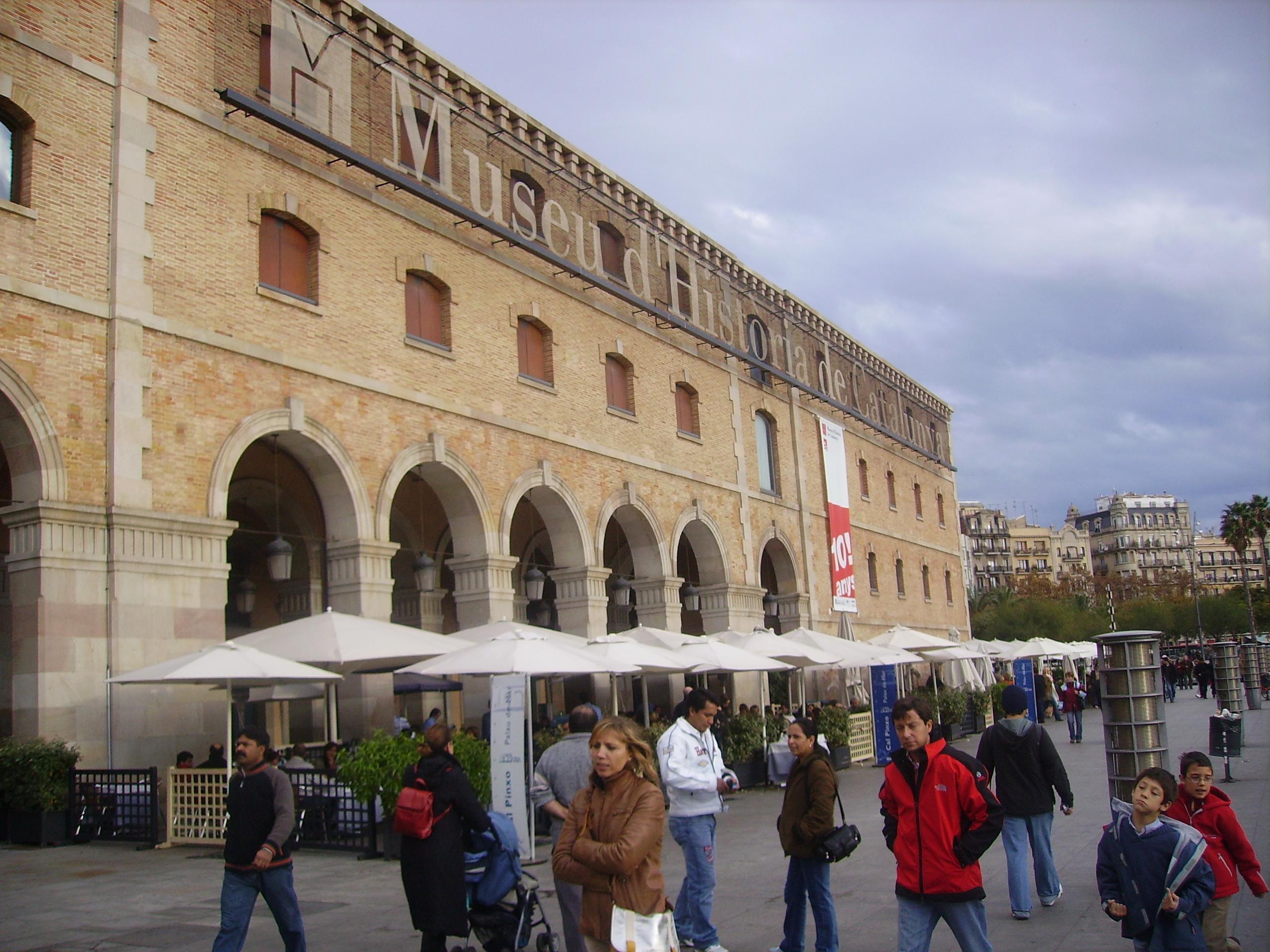 File:MHC Museu Història Catalunya Barcelona.JPG - Wikimedia Commons