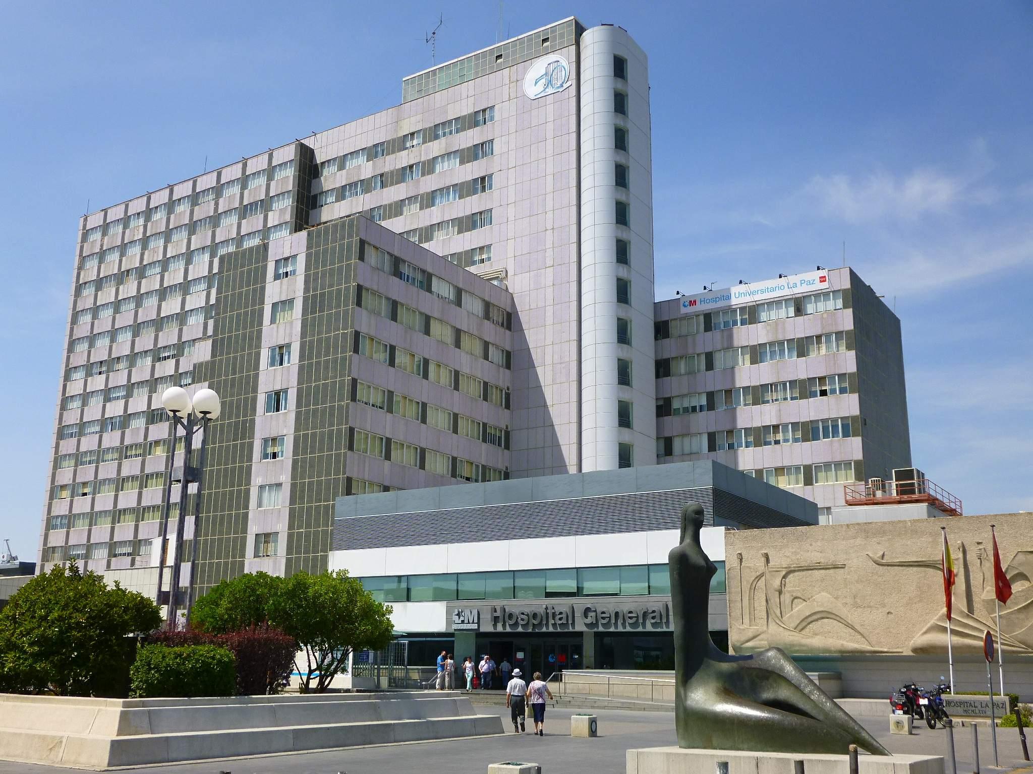 File madrid hospital universitario la paz 02 jpg - Hospital universitario de la paz ...