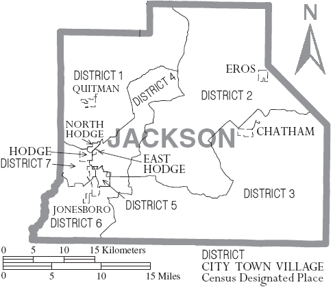 File:Map of Jackson Parishjackson parish