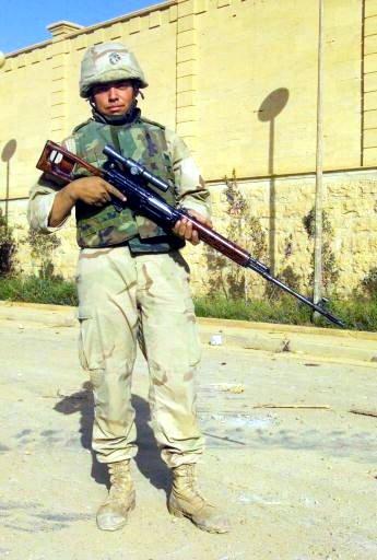 Fusil de francotirador Dragunov Marine_with_SVD