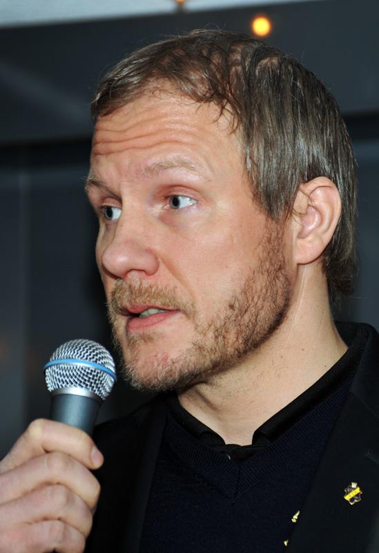 Mats Lindgren in January 2013