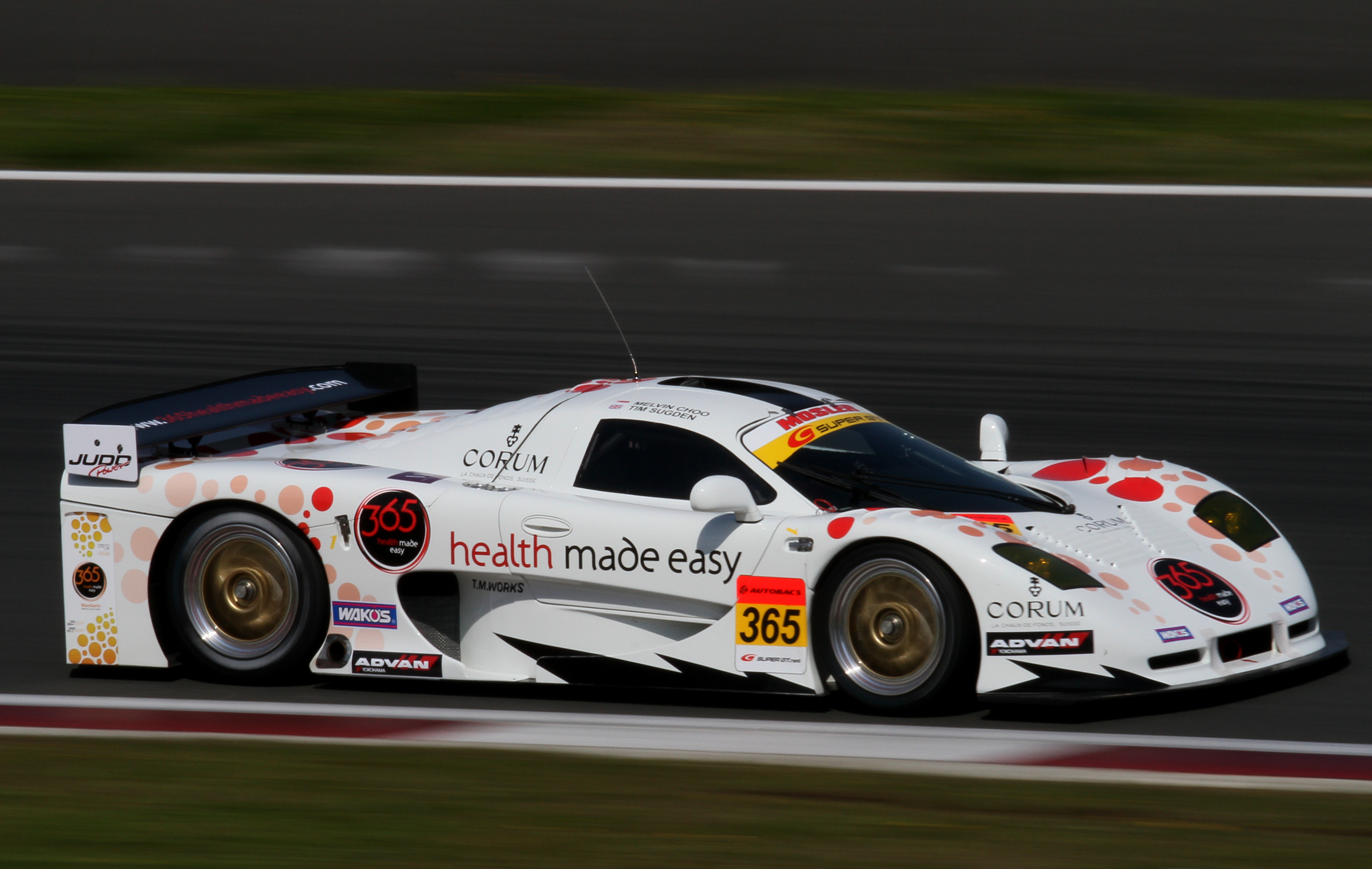 Corvette For Sale >> File:Melvin Choo 2010 Super GT Fuji 400km qualify.jpg ...