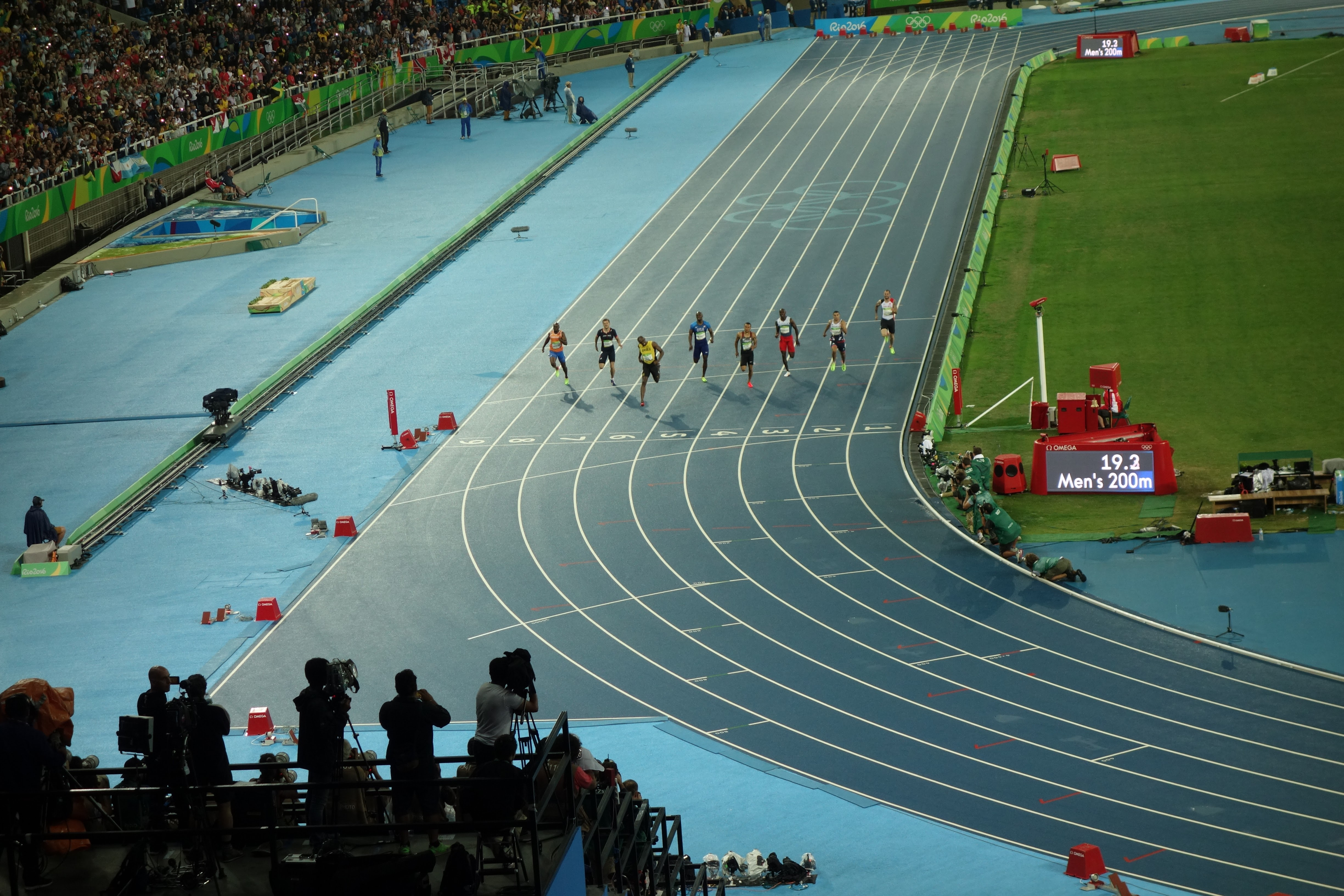 File:Men's 200 metres event at the 2016 Summer Olympics ...