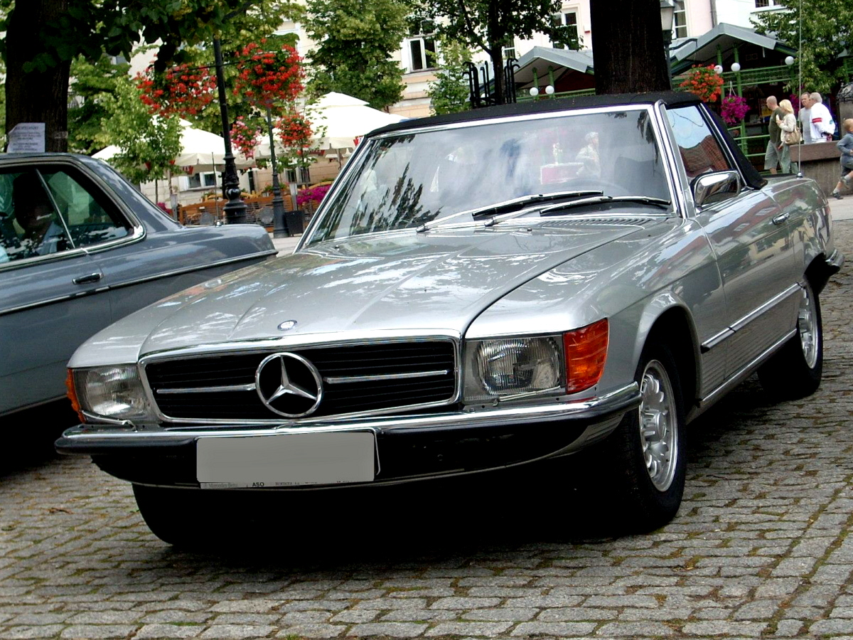 Mercedes benz r107 wikipedia wolna encyklopedia for Mercedes benz of cleveland