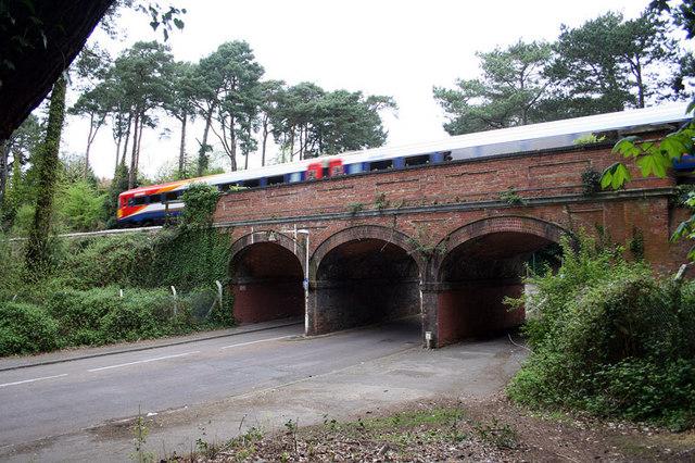 Meyrick Park Halt railway station