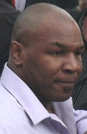 Mike Tyson, who appeared in