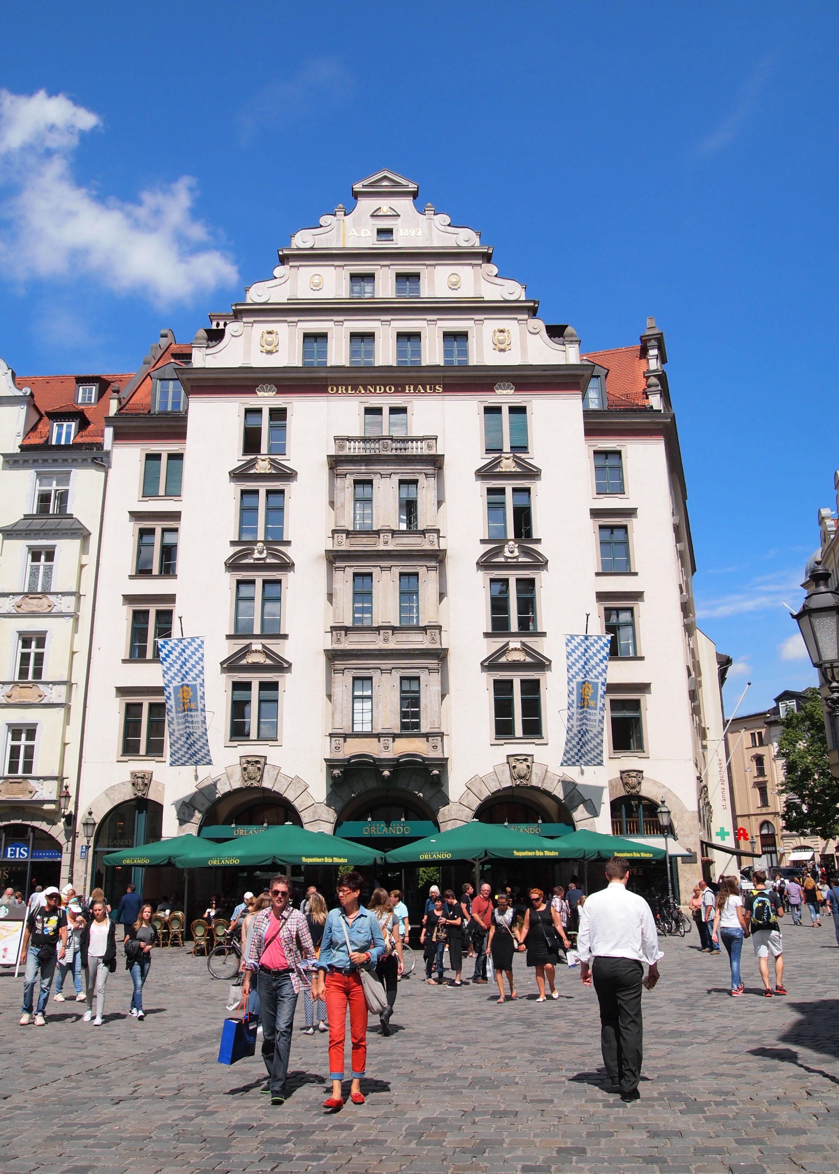 Orlando Haus file munich orlando haus jpg wikimedia commons