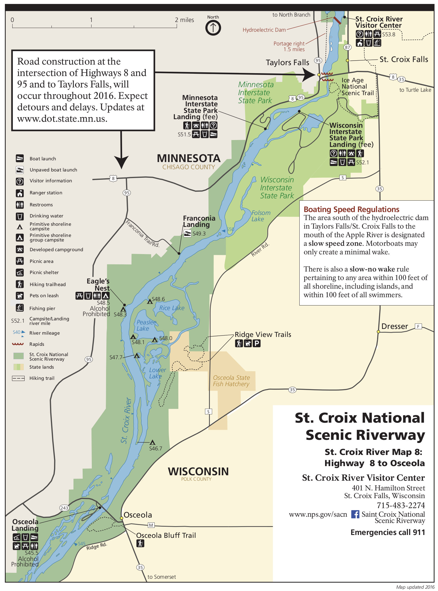 filenps saint croix river map 8 osceola landing