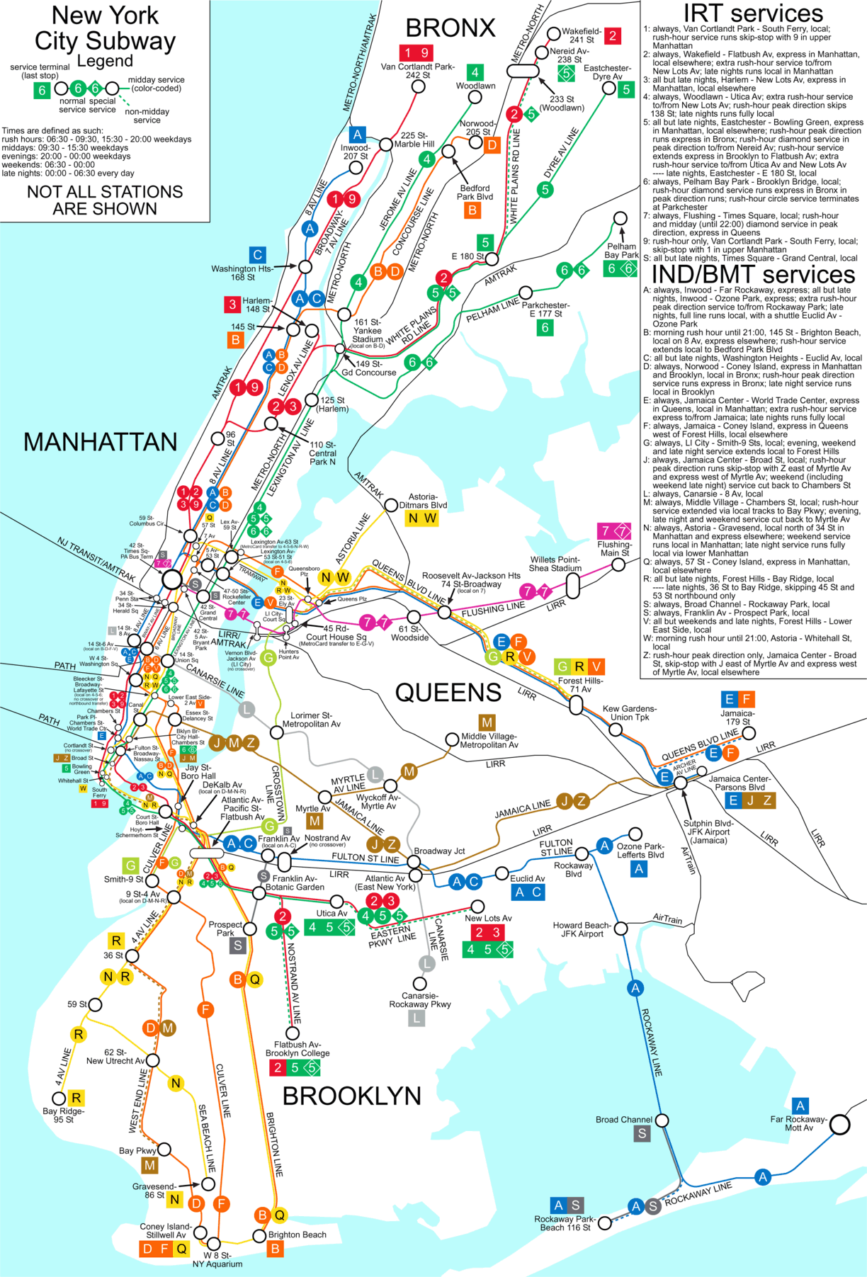 Real Subway Map Nyc.File Nyc Subway Simplified Map 50pct Optimized Png Wikimedia Commons