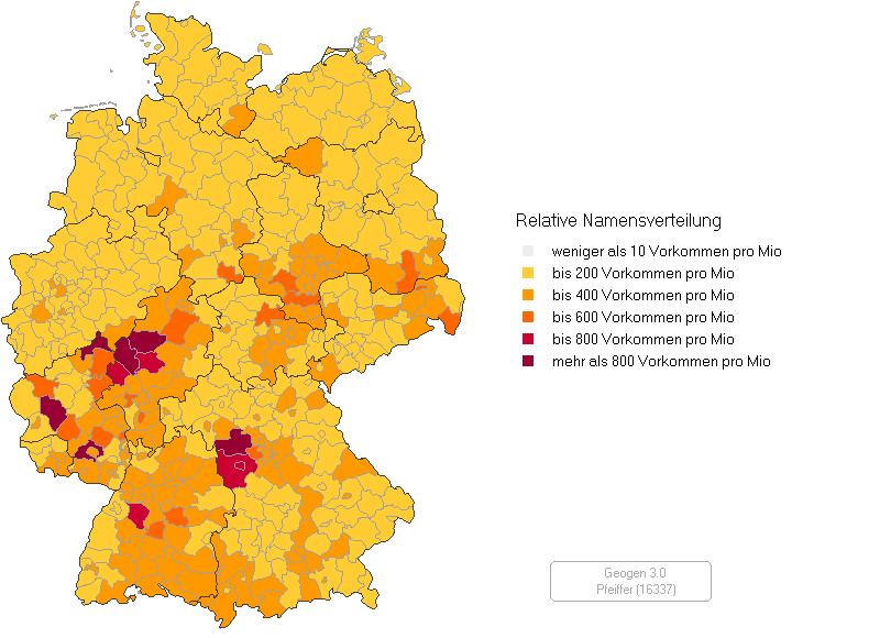 namensverteilung deutschland karte Datei:Namensverteilung Pfeiffer.png – Wikipedia