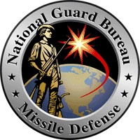 The logo of the Missile Defense division of the U.S. National Guard