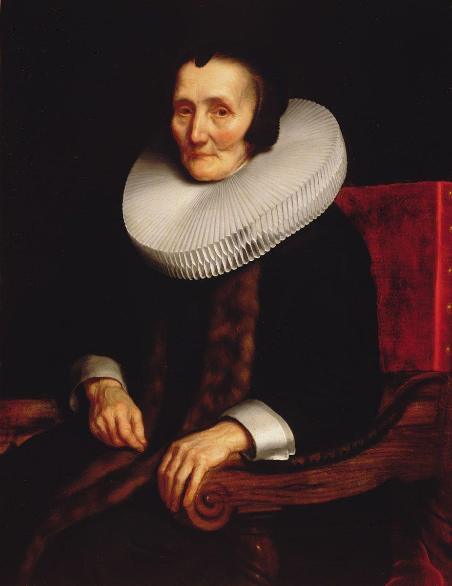 File:Nicolaes Maes - Portrait of Margaretha de Geer, Wife ...