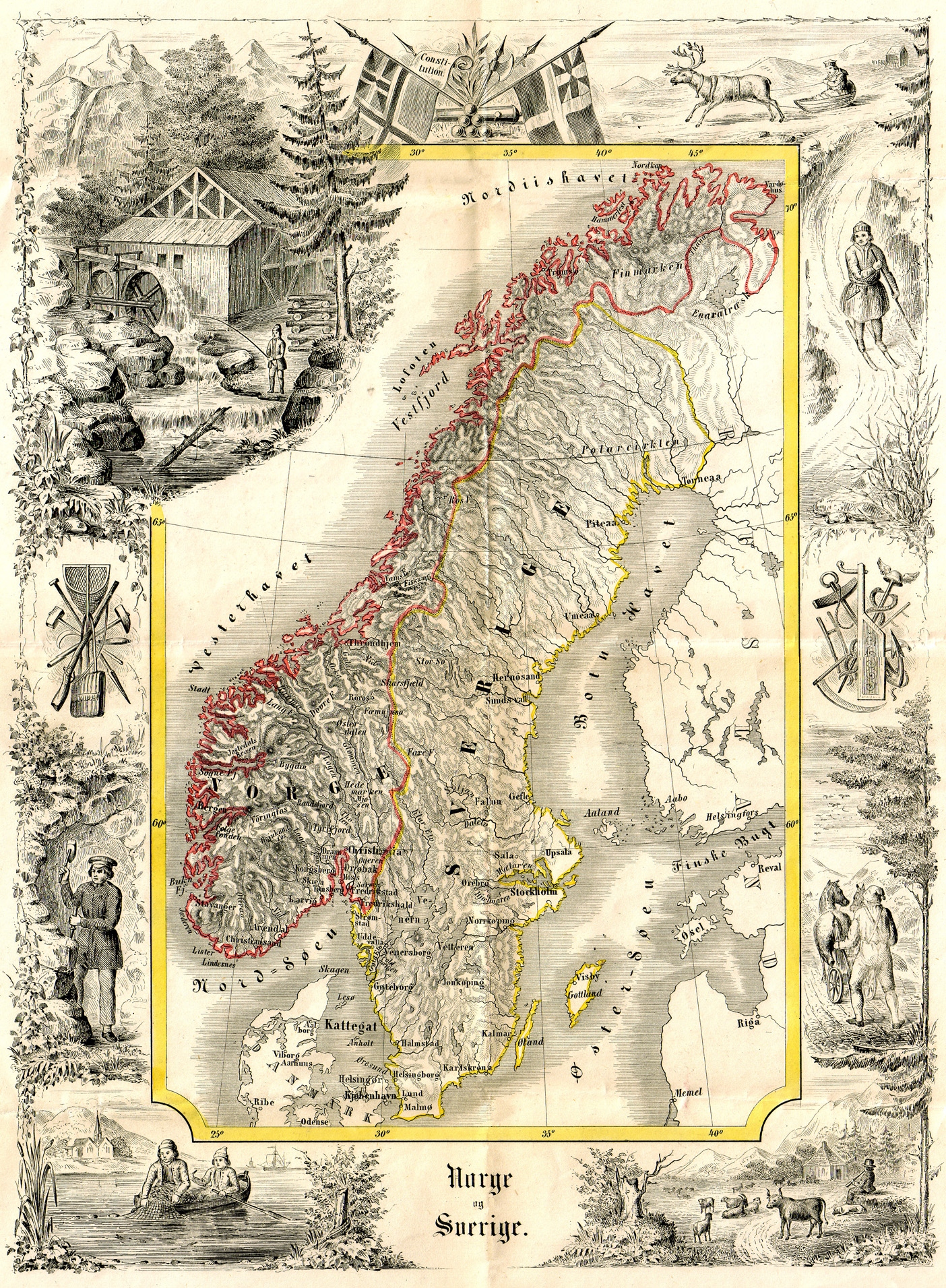 Atlas Of Sweden Wikimedia Commons - Sweden map 1800