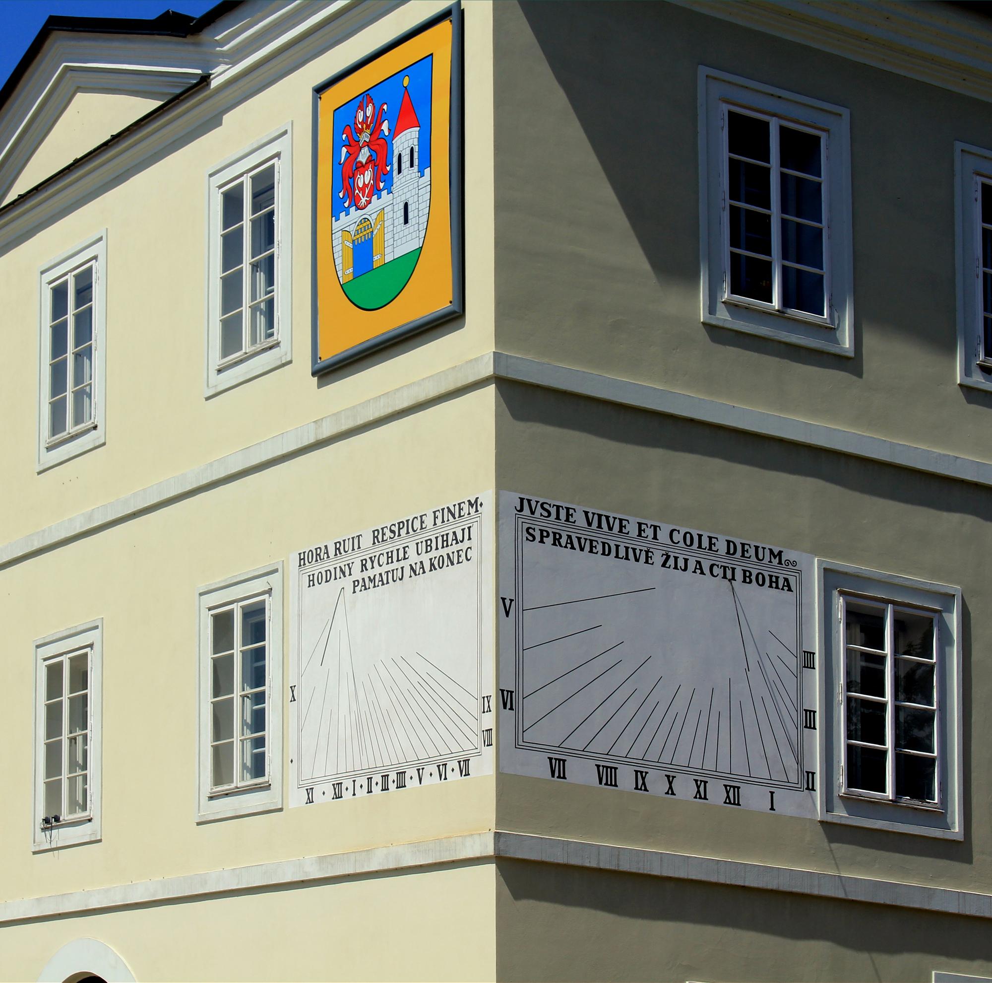 Zegar słoneczny: Nové Město nad Metují