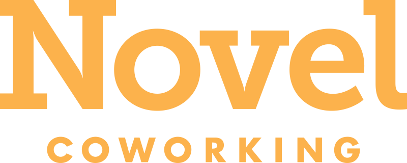 Image result for novel coworking logo png