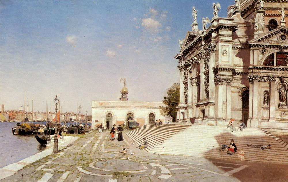 Ortega Martin Rico y A View Of Santa Maria Della Salute Venice.jpg