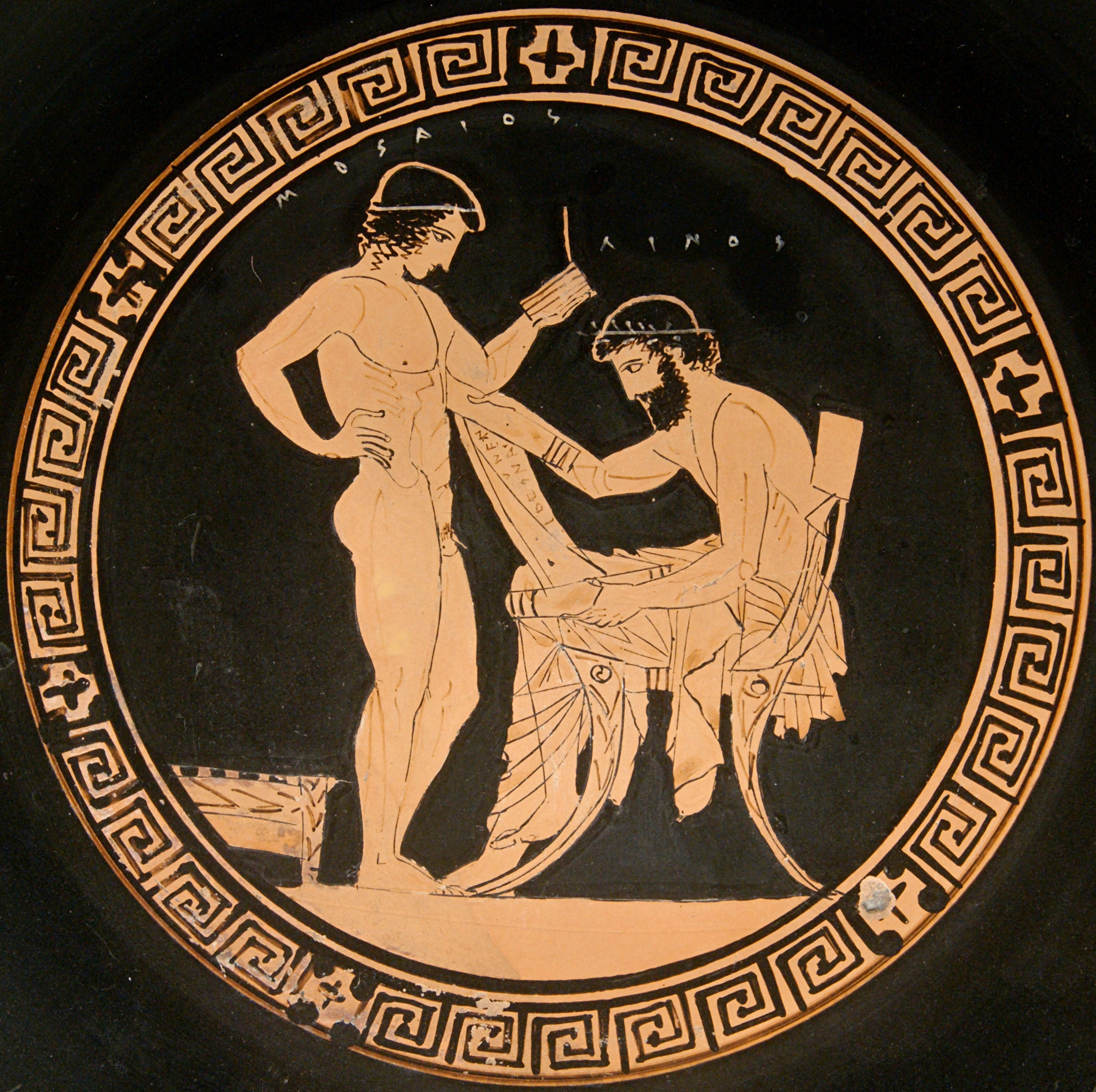 how did thetis and peleus meet the millers