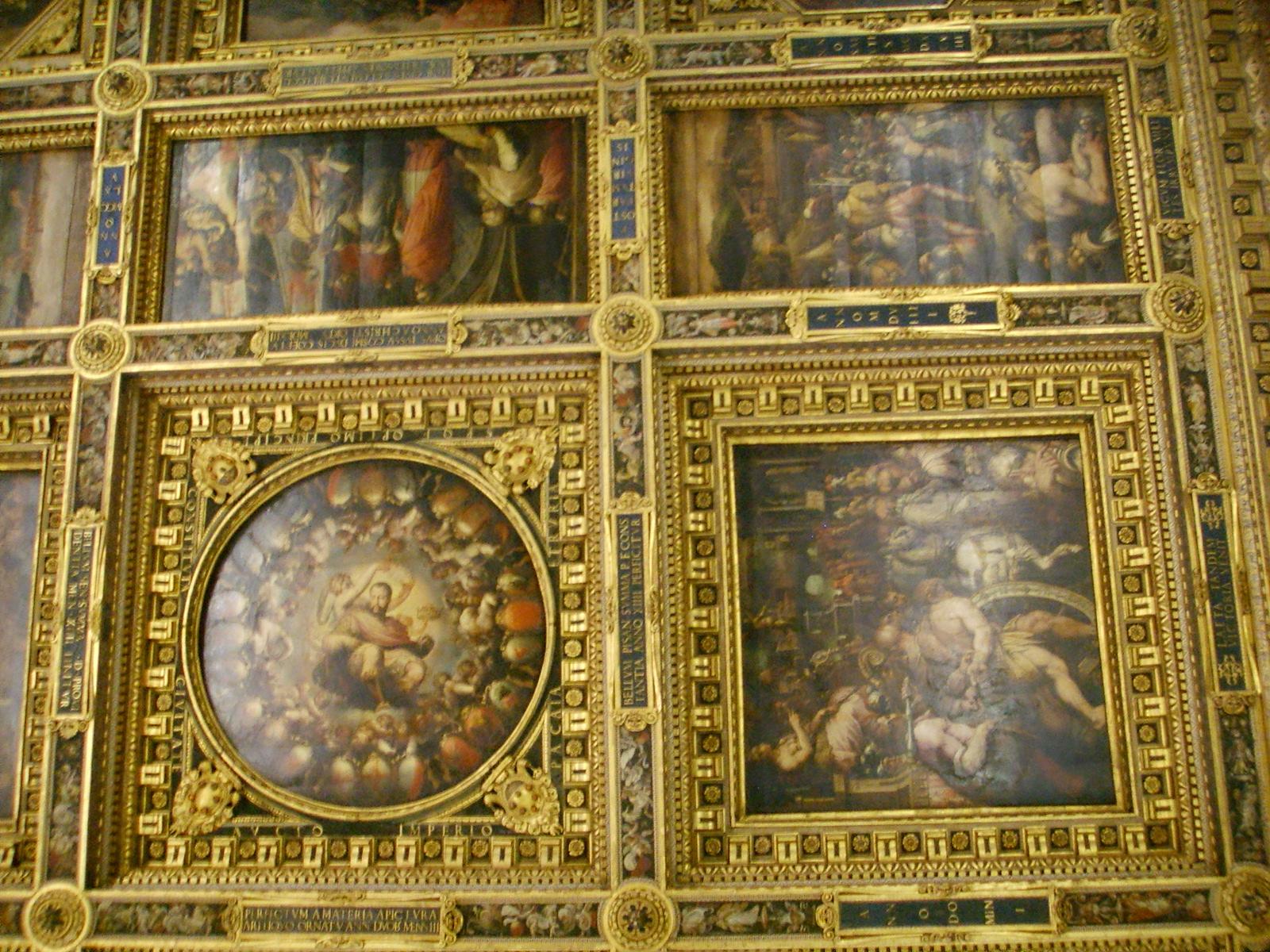 File:Palazzo vecchio, salone dei 500 soffitto 06.JPG - Wikimedia Commons