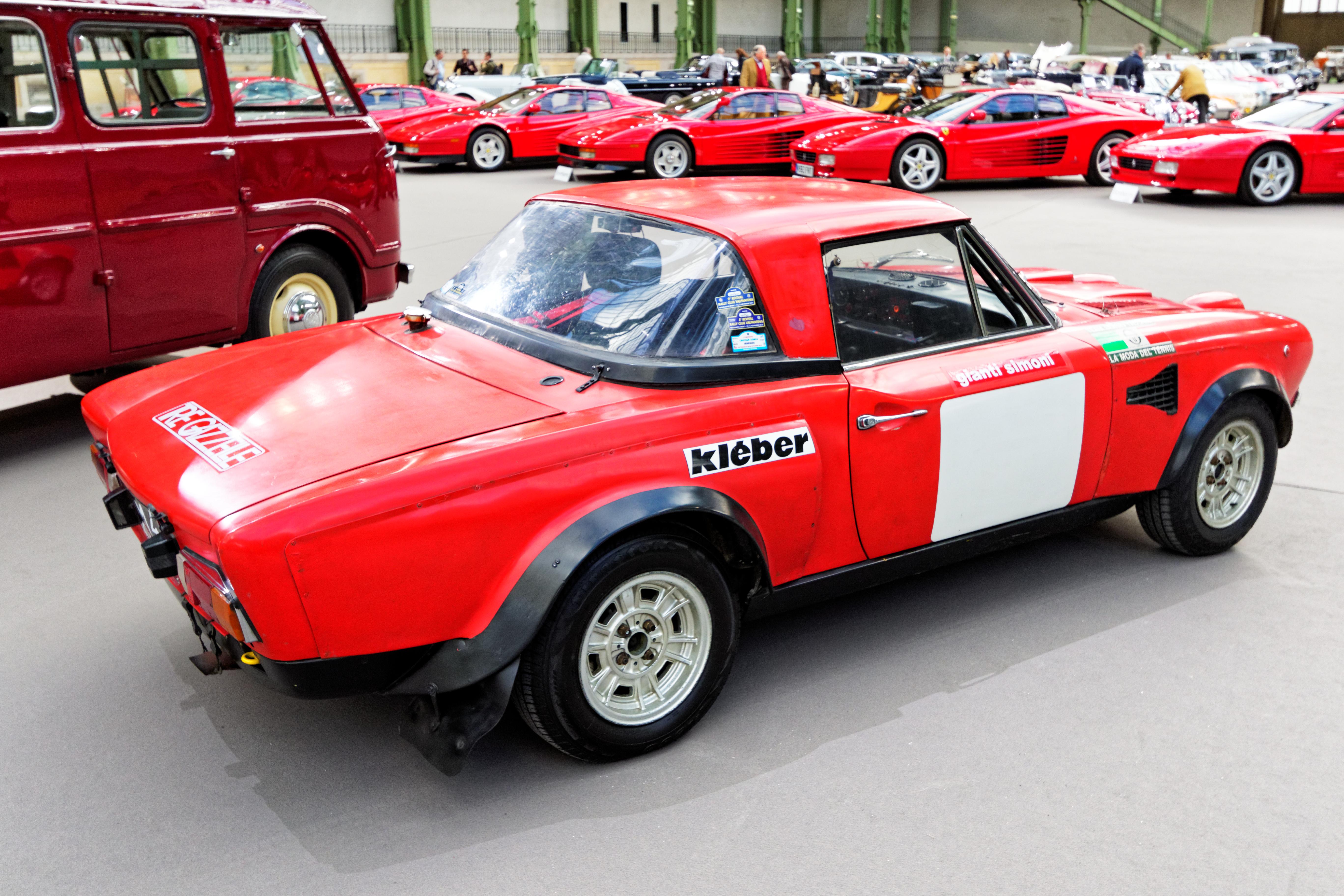 File Paris Bonhams 2016 Fiat Abarth 124 Sport Rallye Groupe 4
