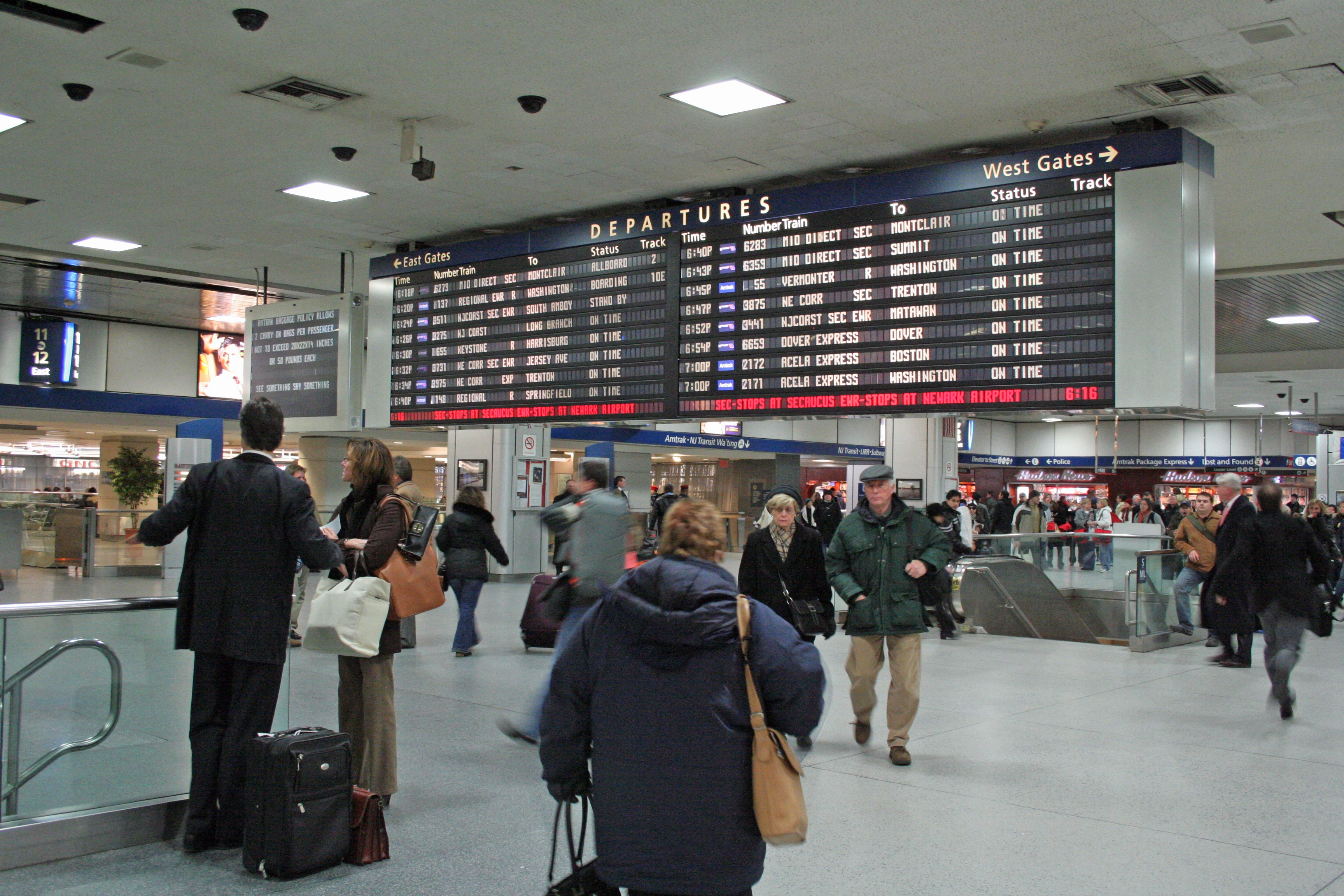 Penn Station Virtual Tour