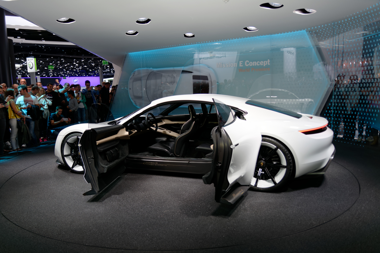 100 Porsche Mission E Making Of Porsche Mission E